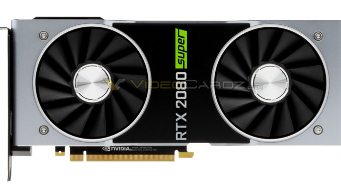 Nvidia GeForce RTX 2080 Super Founders Edition Leak