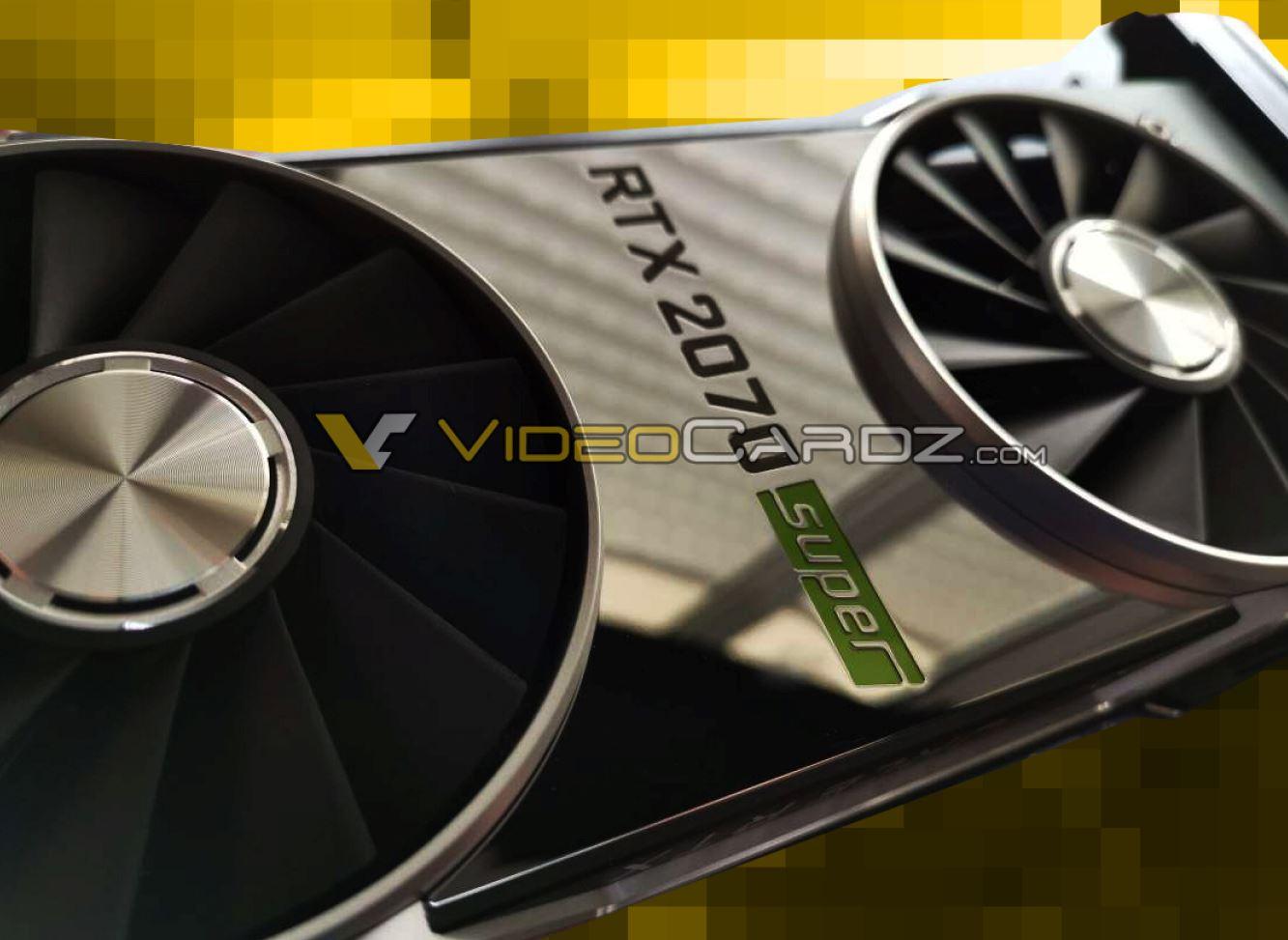 Nvidia Super Nvidia GeForce RTX 2070 Super Founders Edition Leak