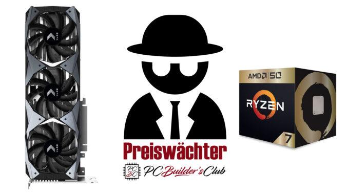 Preiswächter PNY GeForce RTX 2080 Ti XLR8 Gaming OC Angebot AMD Ryzen 7 2700X 50th Anniversary Edition