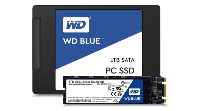 Western Digital Blue WD Blue SSD