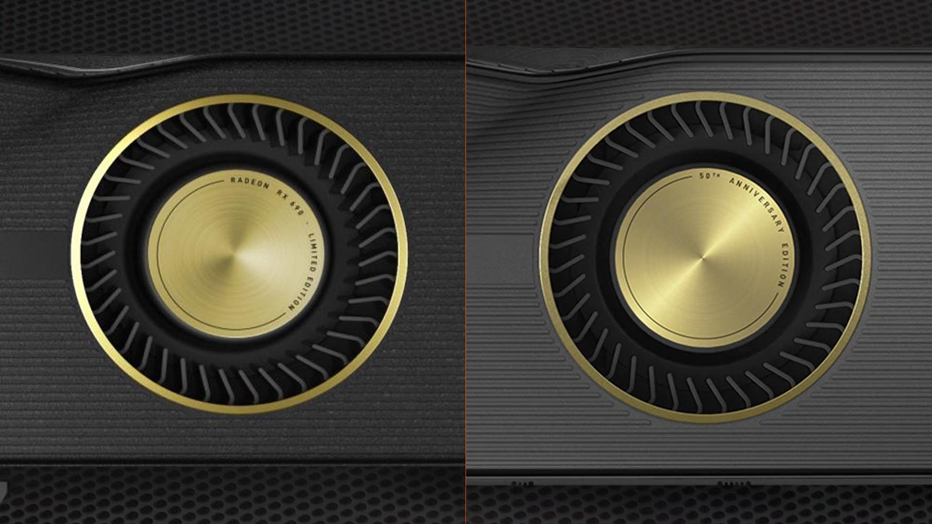 AMD Radeon RX 5700 XT 50th Anniversary Edition Radeon RX 690