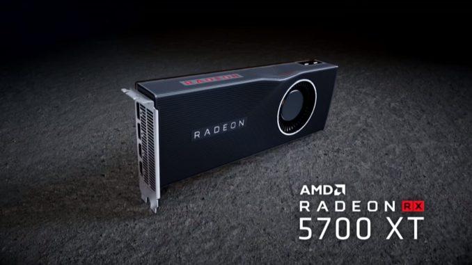 AMD Radeon RX 5700 XT Navi