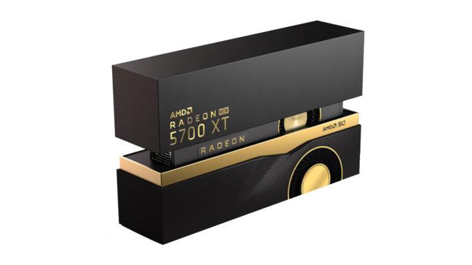 AMD Radeon RX 5700 XT 50th Anniversary Edition Box Navi