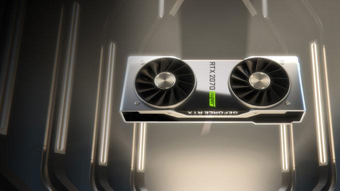 Nvidia GeForce RTX 2070 Super Nvidia Super