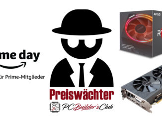 Preiswächter Amazon Prime Day AMD Ryzen 7 2700X Sapphire Radeon RX 580 Pulse