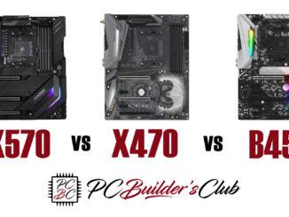 AMD Ryzen 3000 X570 vs X470 vs B450 Vergleich Comparison
