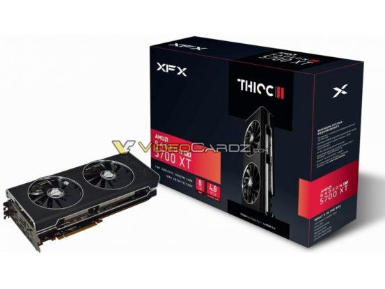 XFX radeon RX 5700 XT THICC 2
