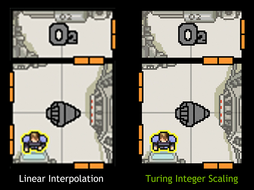 Nvidia Gamescom Game Ready Driver Turing Integer Scaling