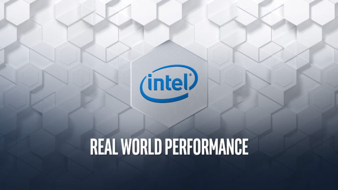 Intel Real World Performance Workshop IFA 2019
