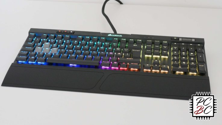 Corsair K70 RGB MK.2 Low Profile Rapidfire Review