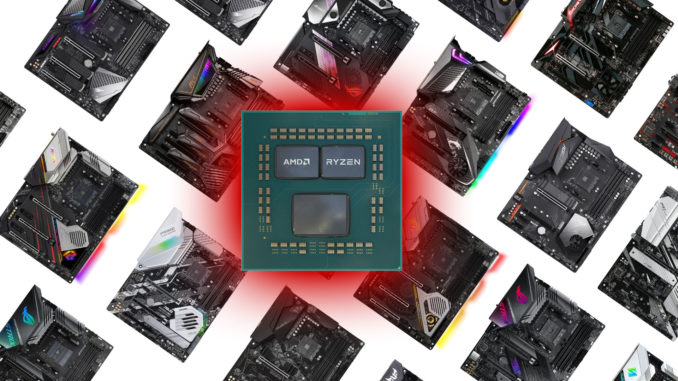AMD Ryzen 9 3950X X570 Mainboards X470 Mainboards