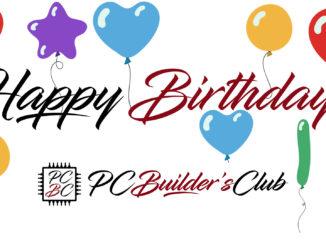 PC Builder's Club Geburtstag Happy Birthday