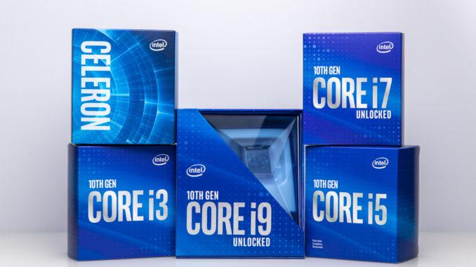 Intel Comet Lake-S Core i9-10900K