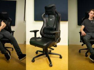 Noblechairs Epic Review Test Langzeittest PC Builder's Club