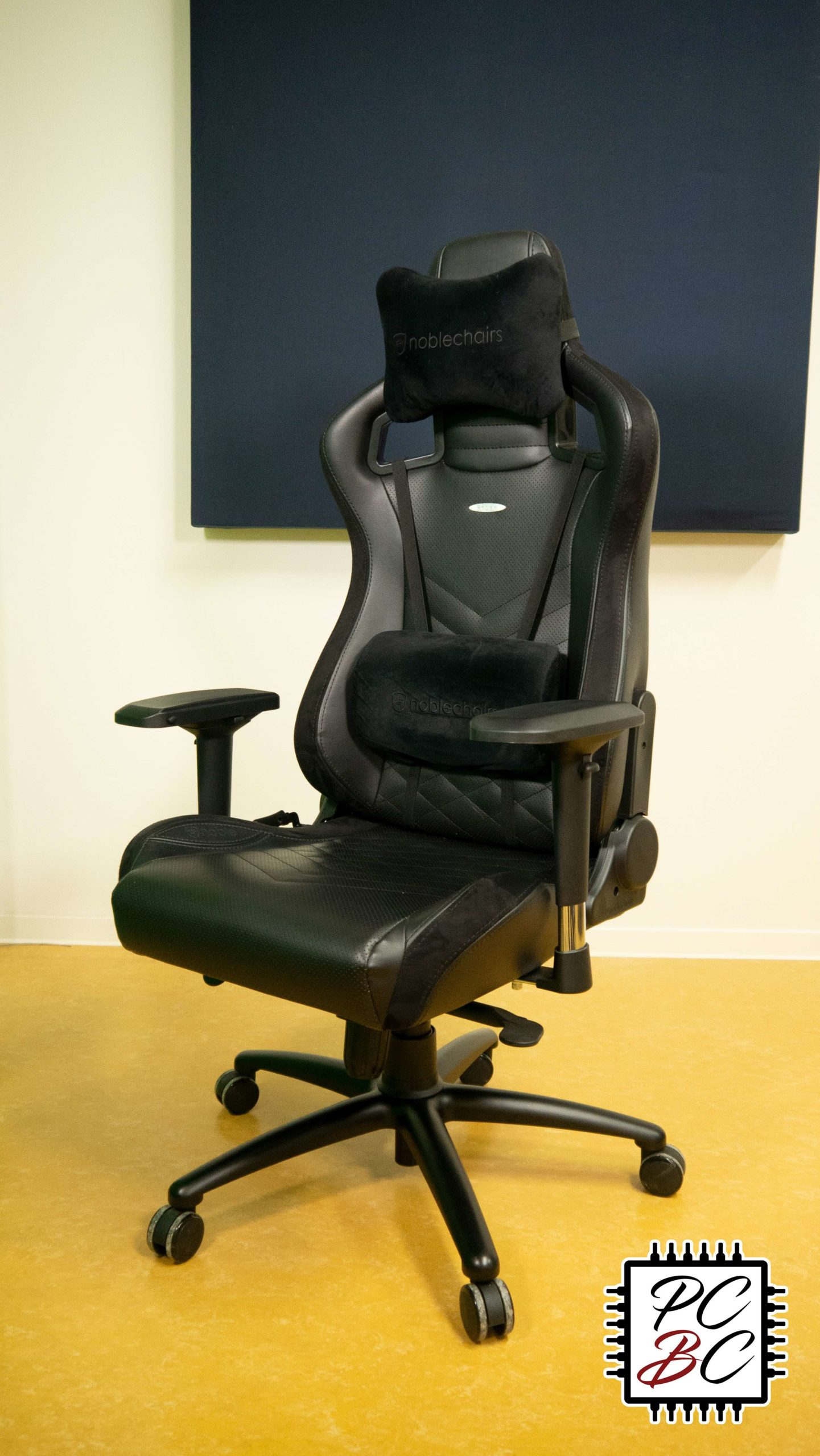 Noblechairs Epic Review Langzeittest PC Builder's Club
