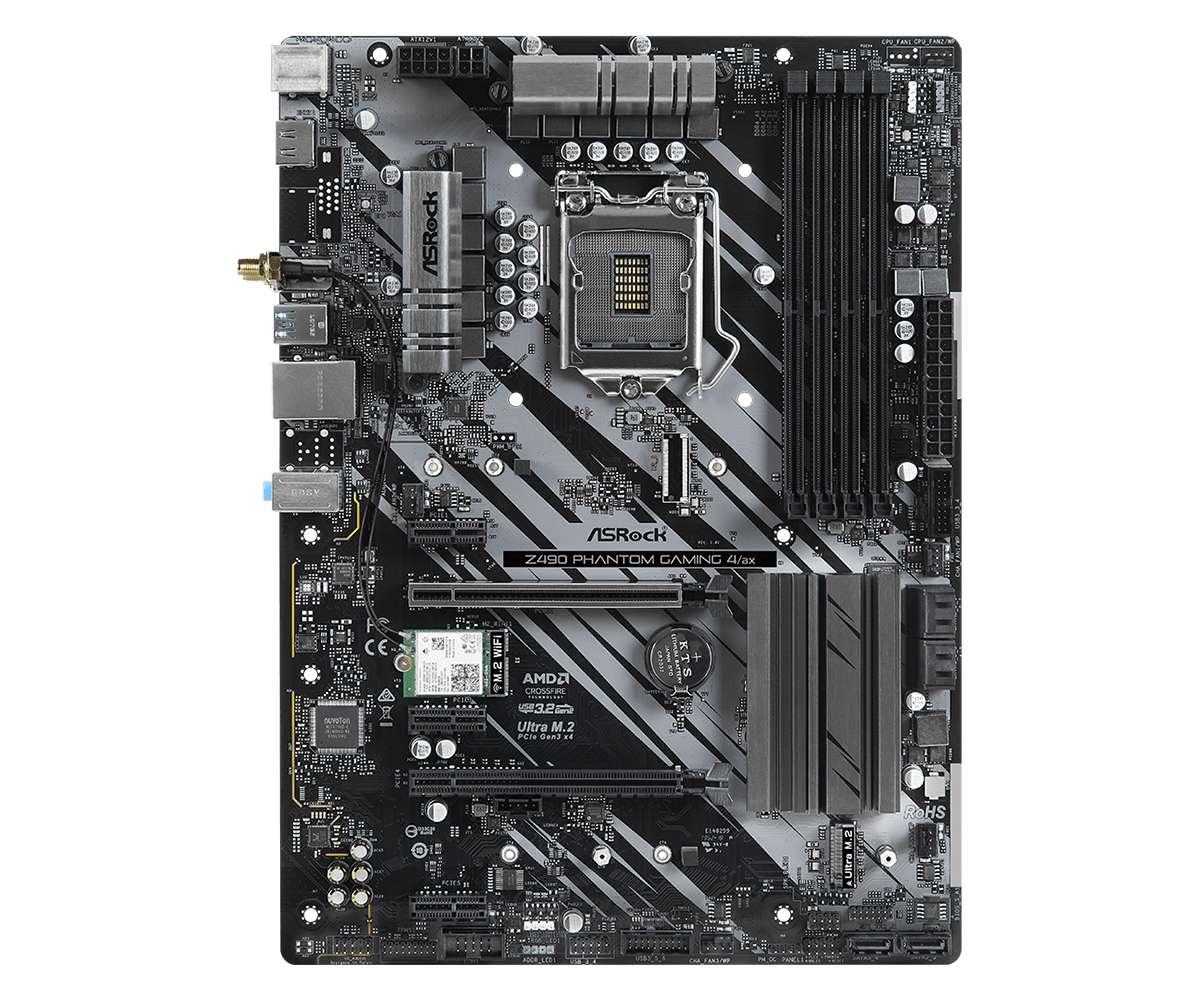 ASRock Z490 Phantom Gaming 4/ax