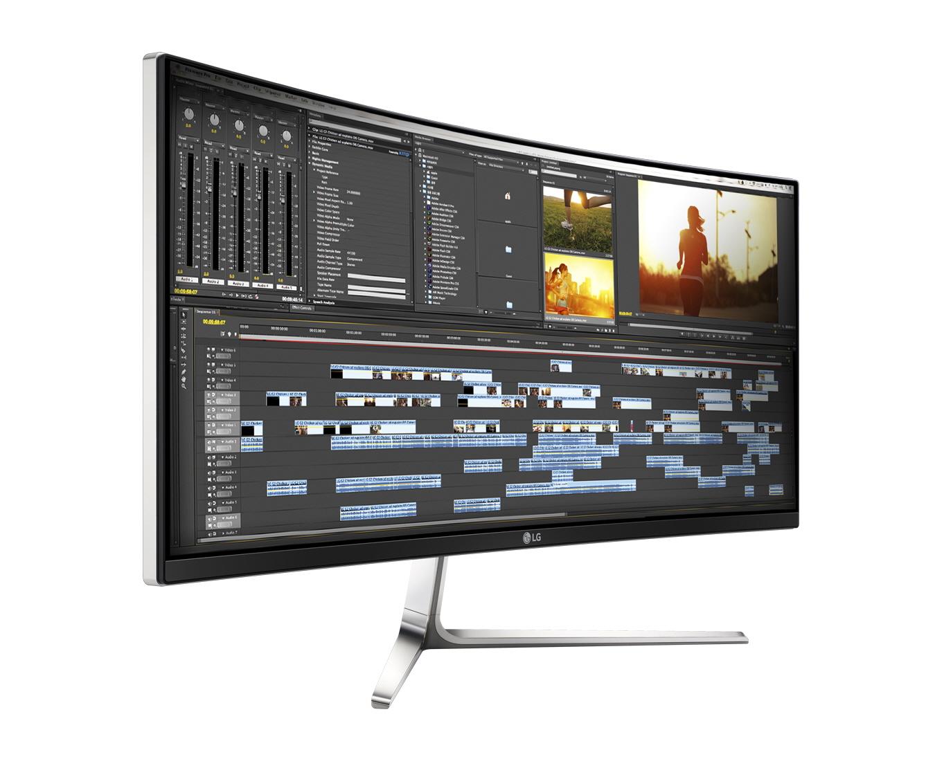 LG 34UC97-S Ultrawide Bildschirm Homeoffice Büro 21:9