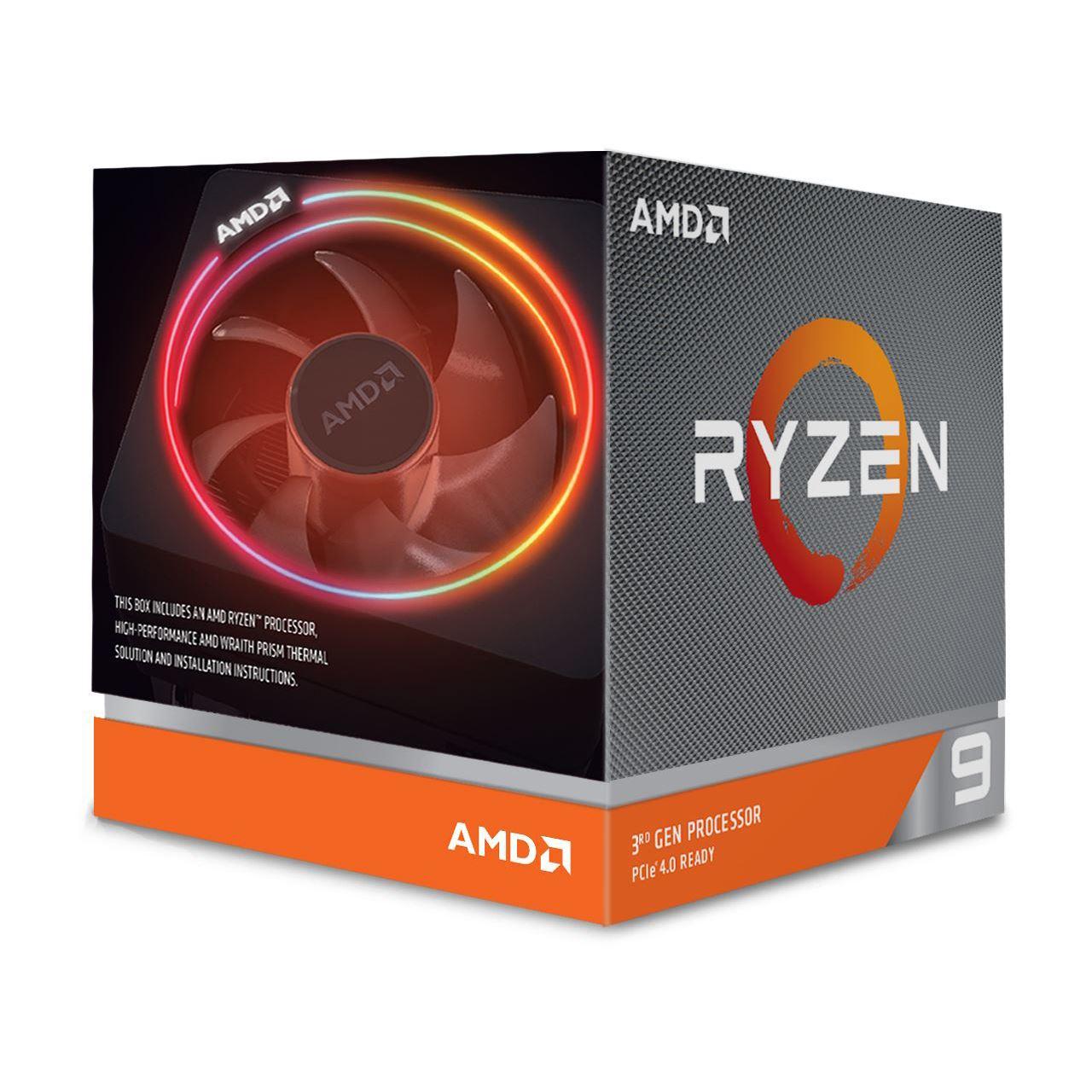 AMD Ryzen 9 3900X Boxed, kein Tray