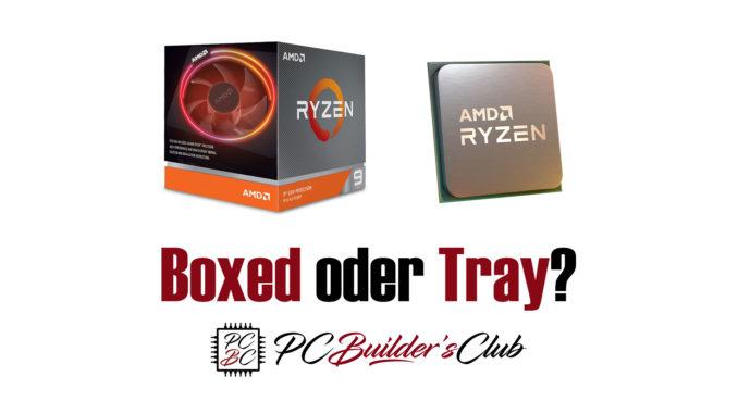 Intel AMD Boxed Tray CPUs Vergleich