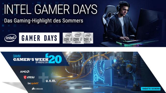Intel Gamer Days 2002 Mindfactory Gamers Week Angebote