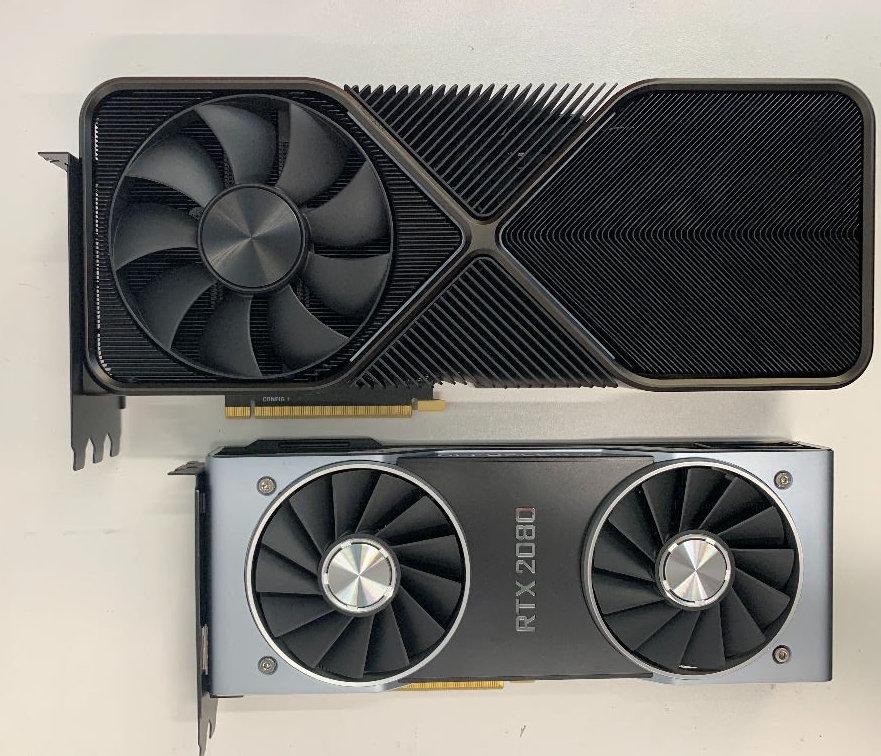 Nvidia GeForce RTX 3090 Cooler Nvidia Ampere Leak RTX 2080
