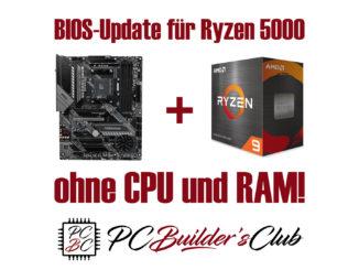 BIOS Update für AMD Ryzen 5000 ohne CPU und RAM BIOS Flashback X570 B550