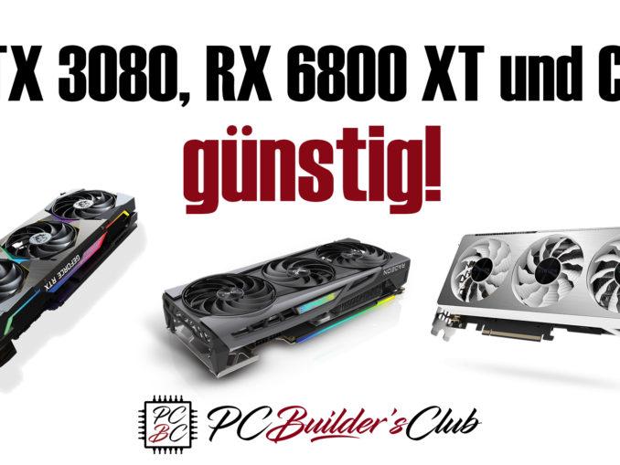 Nvidia GeForce RTX 3080 RTX 3070 AMD Radeon RX 6800 XT günstig kaufen