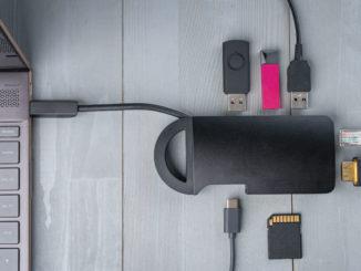 USB-C Dock Hub Port mit Notebook Thunderbolt 3 Thunderbolt 4