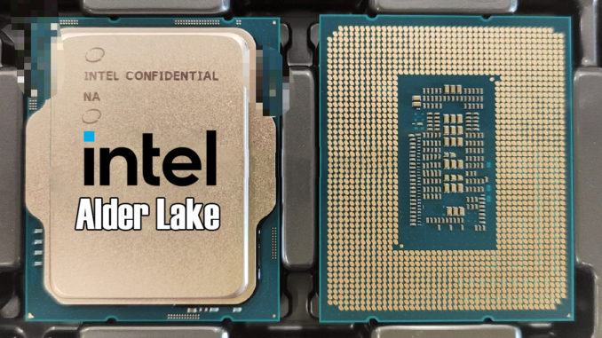 Intel Alder Lake-S Alder Lake Prozessor LGA 1700 Leak