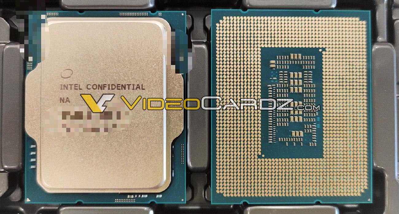 Intel Alder Lake LGA-1700 CPU Engineering Sample auf Tray