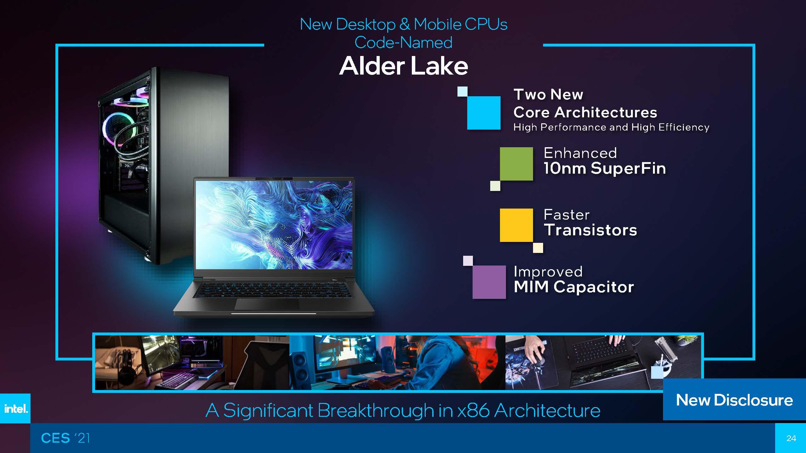 Intel Alder Lake CES 2021 Sneak Peek