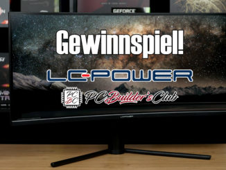 LC-Power LC-M34-UWQHD-144-C V2 Ultrawide Gaming Gewinnspiel PC Builder's Club