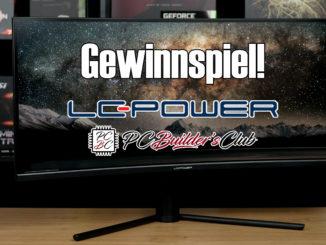 LC-Power LC-M34-UWQHD-144-C V2 Ultrawide Gaming Gewinnspiel PC Builder's Club