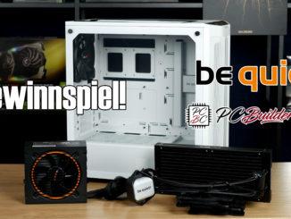 be quiet! Gewinnspiel PC Builder's Club